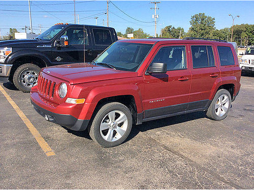 2014 JEEP Patriot Latitude 4994T one owner heated leather 13995
