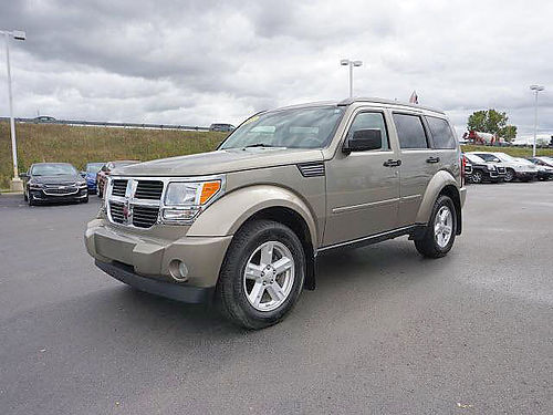 2007 DODGE Nitro SLT 172731A only 62764 miles 4WD clean 8995