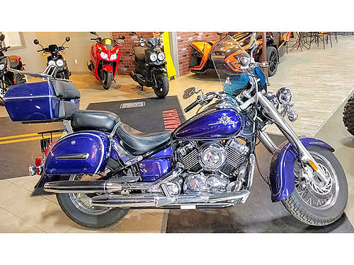 2003 YAMAHA V-Star Classic lots of chrome nice bike ask for James or Cody 2688