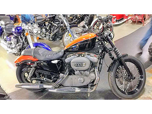 2009 HARLEY-DAVIDSON 1200 Nightster low suspension bare-knuckle styling performance that delivers