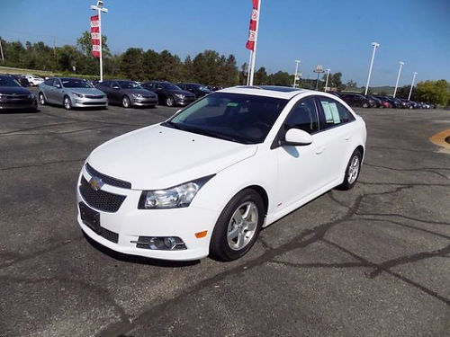 2014 CHEVY Cruze 1LT J101568 low miles well equipped 12699
