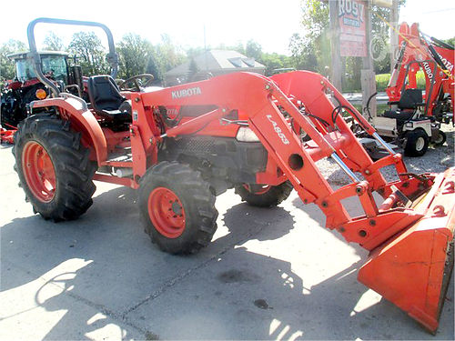 2004 KUBOTA L5030HST 6115 50hp diesel hydro transmission 4WD power steering 3pt quick hitch L