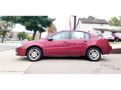 2004 SATURN Ion 3 only 3587