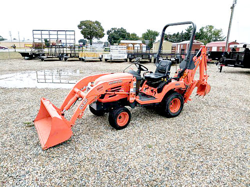 KUBOTA BX25TLB 25hp Kubota diesel HST transmission 4x4 LA240 loader with 48 bucket 13700 86