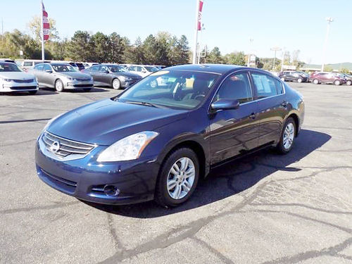 2012 NISSAN Altima J4155A one owner well equipped clean 11214