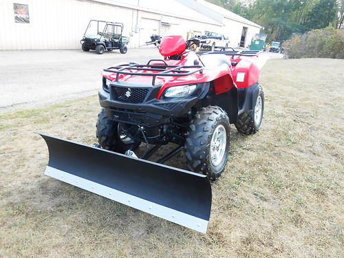2016 SUZUKI KingQuad 750AXi power steering only 155 hours new plot set up 6999