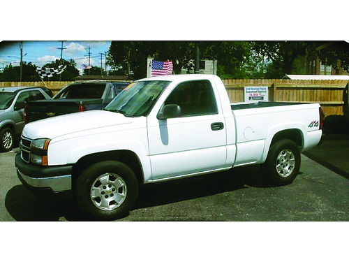 2007 CHEVY Silverado 1500 regular cab 4x4 only 169month or 7222