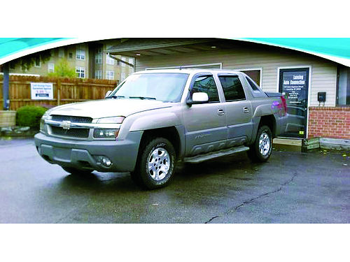 2002 CHEVY Avalanche 4x4 only 179month or 5995