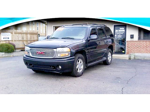 2004 GMC Yukon Denali only 179month or 5995