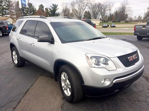 2012 GMC Acadia SLE T137067A AWD 36L V6 well equipped many options 13995