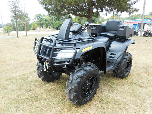 2015 ARCTIC Cat MudPro 1000 Limited EPS 65 miles winch 8199