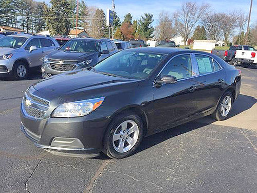 2013 CHEVY Malibu 1LT P4376A FWD low miles touch screen very clean 11495