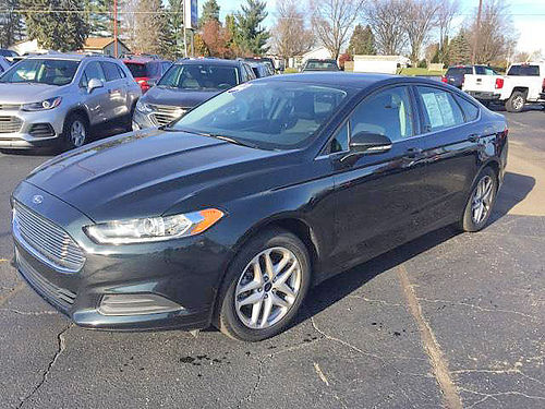 2014 FORD Fusion SE P4371 low miles FWD touch screen loaded 13895