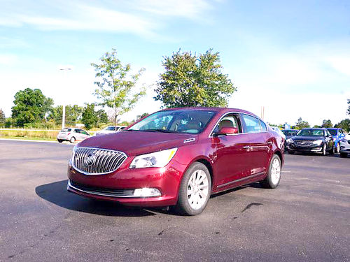 2015 BUICK LaCrosse P1822 FWD leather 36L V6 well equipped 17995