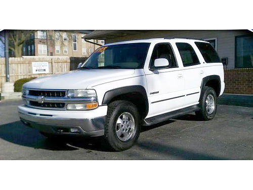 2003 CHEVY Tahoe LT 4x4 leather 4 door only 151month or 4995