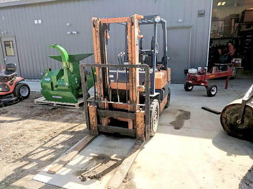 TOYOTA FG20 Forklift 4000 lb lift capacity 118 lift height 42 forks propane 2 stage mast 4