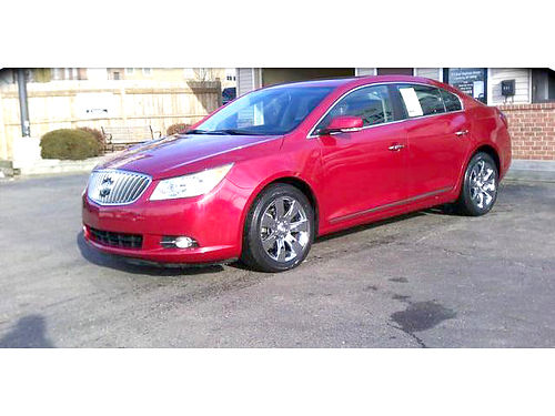 2013 BUICK LaCrosse leather loaded only 265month or 15995