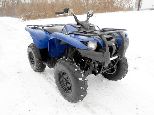 2012 YAMAHA Grizzly 700 good condition 1318 miles 4995