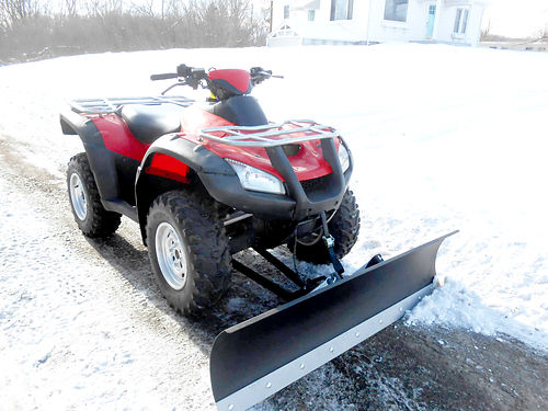 2013 HONDA FourTrax Rincon 675cc 1328 miles with plow 5999