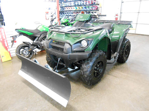 2016 KAWASAKI Brute Force 750 4x4i new plow set up 1092 miles 6499