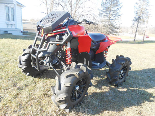2016 CAN-AM Renegade 850 customized to the max only 458 miles on sale for only 7999