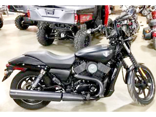2015 HARLEY-DAVIDSON Street 750 low miles your choice one in vivid black one in black denim colo