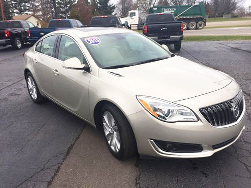 2015 BUICK Regal P4374 premium FWD many options 16795