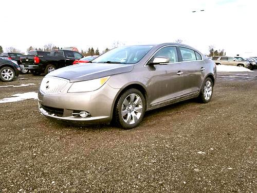 2010 BUICK Lacrosse CXL 160949A FWD 30L 6 cylinder well equipped 9995