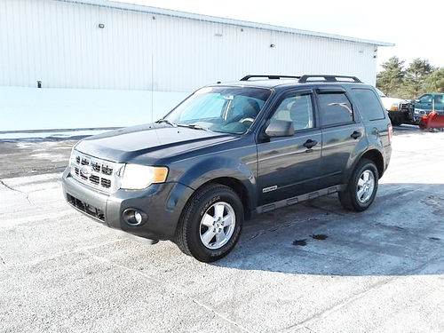 2008 FORD Escape XLT J4265A moonroof well equipped 6590