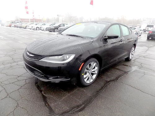 2015 CHRYSLER 200 S J101676 one owner Bluetooth touchscreen very clean 13895