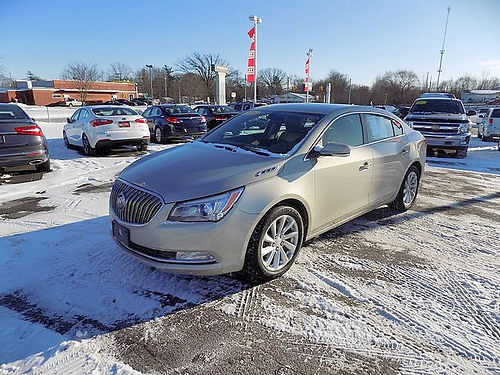 2014 BUICK Larcosse J101626 one owner only 19527 miles loaded 19757