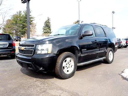 2013 CHEVY Tahoe LS T100461A RWD 53L 8 cylinder well equipped 17995