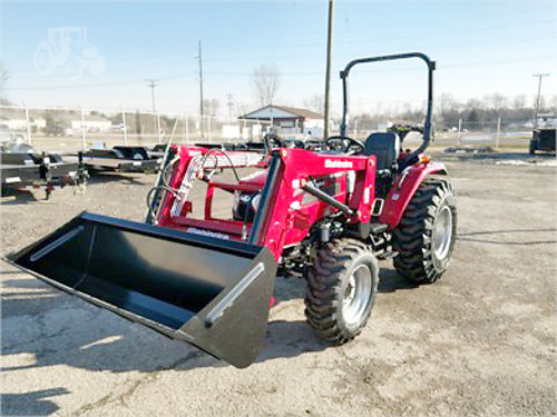 2017 MAHINDRA 2545 new tractor and loader 4WD 45 HP diesel 540 PTO ROPS sale 24150