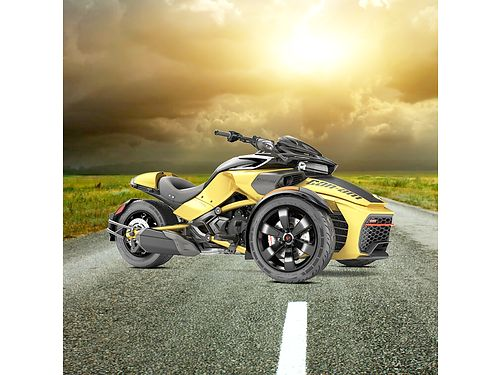 2017 CAN-AM Spyder F3-S Daytona 500 on sale cruise in style this summer very easy and fun to driv