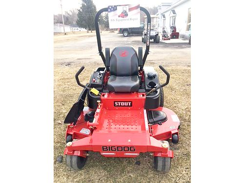 BIG DOG Alpha 52 mower 23hp Kawasaki 7-year 300-hour warranty msrp 3799 sale price 3499