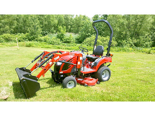 TYM T194 HST 19 hp 4x4 loader ask about the 6-year limited warranty