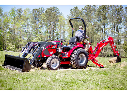 TYM T234 HST 24 hp 4x4 loader ask about the 6-year limited warranty