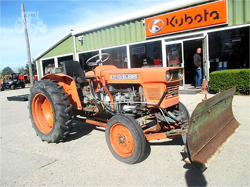 KUBOTA L225 diesel 16 speed transmission PTO 3950