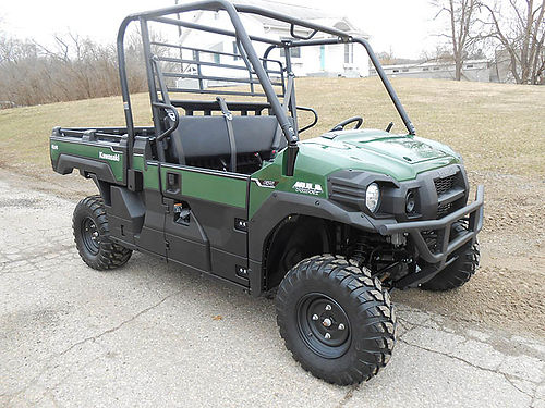 2018 KAWASAKI Mule Pro FX EPS like new still under warranty only 598 miles well equipped 1099