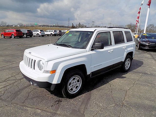 2015 JEEP Patriot Sport J4429A well equipped clean 13584