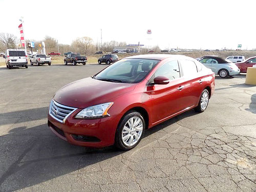 2015 NISSAN Sentra SL J101715 one owner only 13109 miles like new 16459