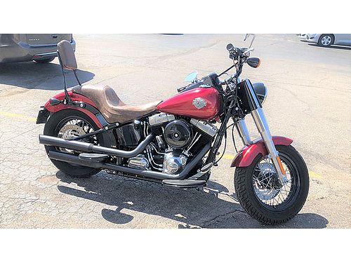 2013 HARLEY Davidson Softail Slim only 975 miles 103 Ci 1698cc Corbin seat upgrade pipes one ow