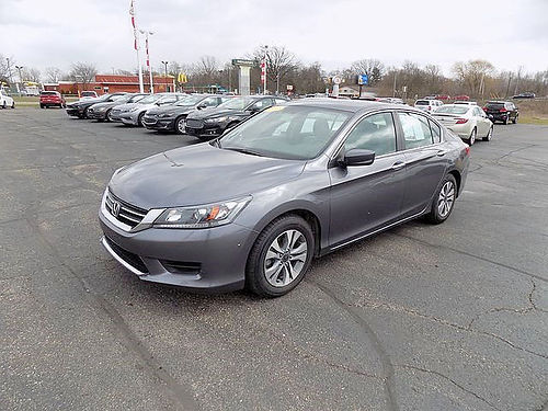 2014 HONDA Accord LX J4345B Bluetooth Dual AC well equipped 15203