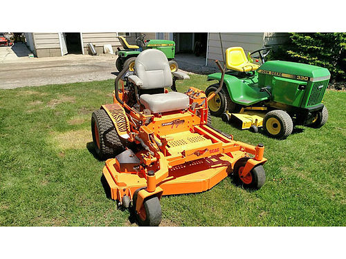 SCAG Turf Tiger 60 Cut 22 HP Kawasaki LC 3975 grossmowersalescom 810-845-0547 or