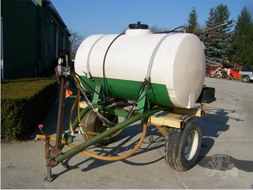 CUSTOM Made 300 pull type sprayer 775