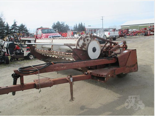 INTERNATIONAL 990 540 PTO mower conditioner 1950