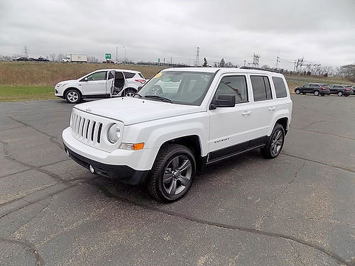 2015 JEEP Patriot High Altitude J101671 low miles one owner leather 14497