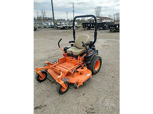 2016 SCAG STC61V23FX 52 Zero Turn like new 6500