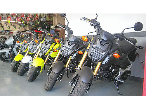 HONDA GROM TIME Plenty in stock save and have fun this summer and get a Honda Grom today for more