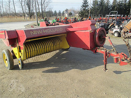 NEW Holland 273 square baler chute tupe 2750